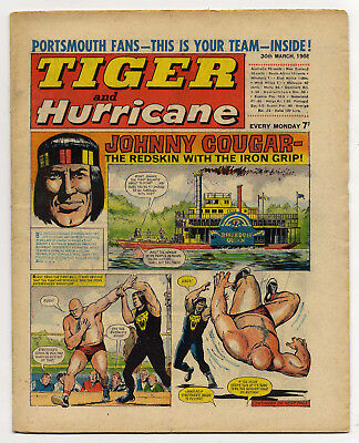 Tiger 30th March 1968 (Portsmouth FC 2-page comic strip feature)