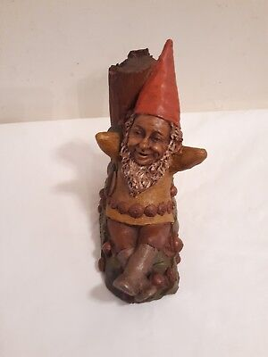 "Tom Clark Gnome ""Saturday"",1980 Artist Signed"