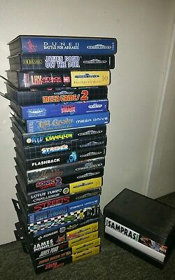 lot 20 jeux Sega mega drive street of rage  1 Light crusader dune 2 flashback...
