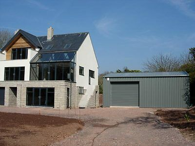 Home Workshop Steel Framed Building | 8m x 10m | Personnel | Garage | No10