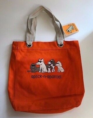 Teddy the Dog, Cocker Spaniel Tote! New! Handsome!