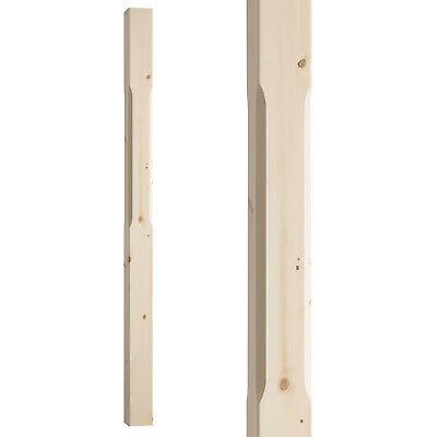 Stop Chamfered Stair Newel Post Type 2 - Select Timber and Type