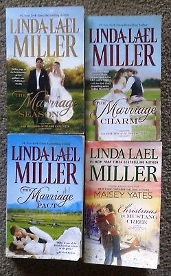 LINDA LAEL MILLER - Complete Bliss County - Marriage Pact , Charm, Secrets +Xmas
