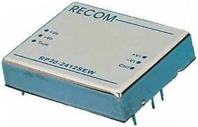 NEW Recom RP20-2412SEW 20W Isolated DC-DC Converter, Vin 9-36V, Vout 12V DC@1.7A