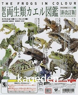 YUJIN The Frogs In Colour Gashapon Collection Full Set of 15 Part 1 2.0