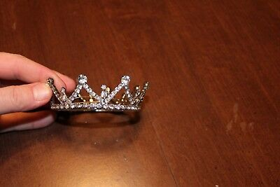 4 inch Full Crystal Queen Wedding Bridal Party Pageant Prom Tiara Round Crown