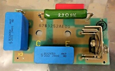 AEG 6763252 AE00, Discharge Mains Suppression Device PCB 6763252AE00