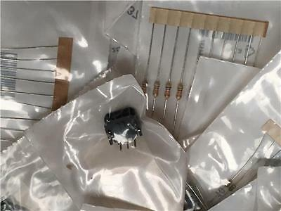 100 Bags of NEW RS Passive Electronic Components, Resistors Capacitors Hardware