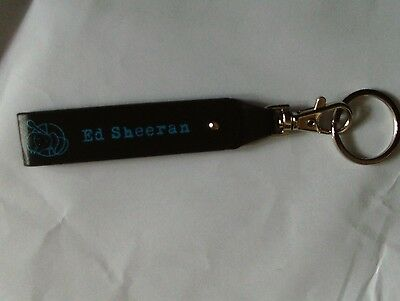 Ed Sheeran New Belt Key Chain Ring Fob Tour Exclusive Free Uk Post