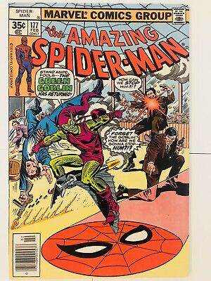Amazing Spiderman 177 Green Goblin! Everything starts at 99 cents!