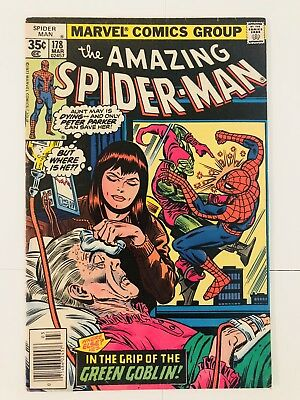 Amazing Spiderman 178 Green Goblin! Everything starts at 99 cents!