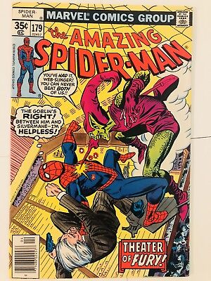 Amazing Spiderman 179 Green Goblin! Everything starts at 99 cents!