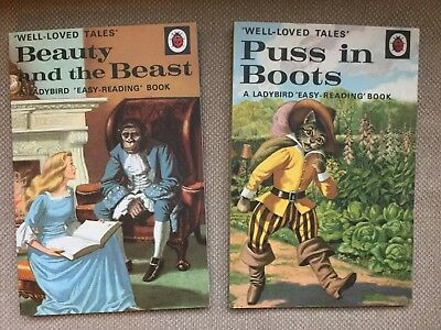 Ladybird Well Loved Tales Notebooks Beauty And The Beast Puss In Boot New