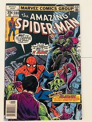 Amazing Spiderman 180 Green Goblin! Everything starts at 99 cents!