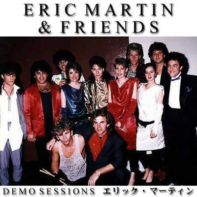 ERIC MARTIN @DEMOS CD Mr Big,Journey,Neal Schon,Jonathan Cain,Randy Jackson AOR