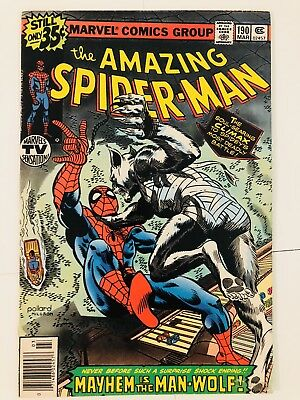 Amazing Spiderman 190 Man-Wolf! Everything starts at 99 cents!