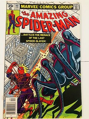 Amazing Spiderman 191 Spider-Slayer! Everything starts at 99 cents!