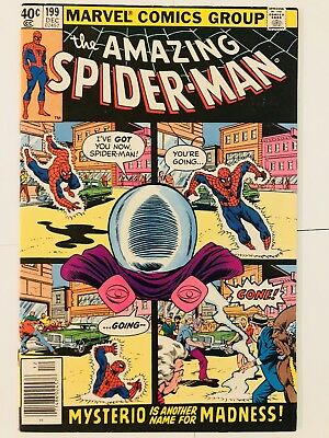 Amazing Spiderman 199 Mysterio! Everything starts at 99 cents!