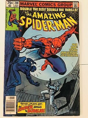 Amazing Spiderman 200 Death of the Burglar! Everything starts at 99 cents!