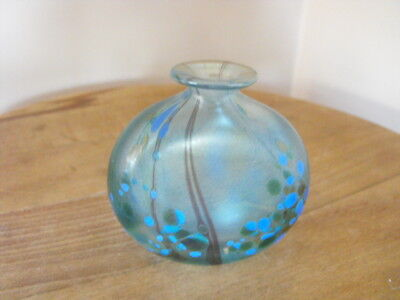 Isle of Wight glass perfume scent bottle