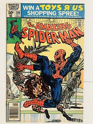 Amazing Spiderman 209 1st Calypso! Kraven! Everything starts at 99 cents!