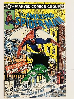 Amazing Spiderman 212 1st Hydro-Man! Everything starts at 99 cents!