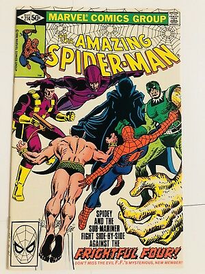 Amazing Spiderman 214 Sub-Mariner! Namor! Everything starts at 99 cents!