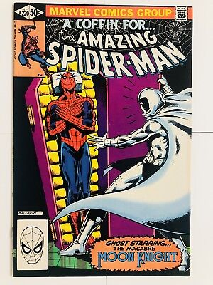 Amazing Spiderman 220 Moon Knight! Everything starts at 99 cents!