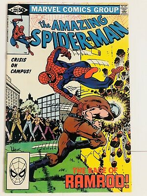 Amazing Spiderman 221 Ramrod! Everything starts at 99 cents!