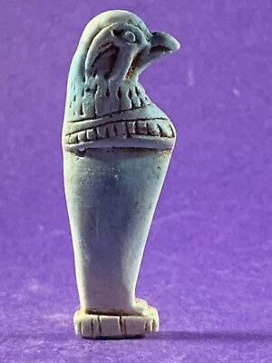 Very Beautiful Circa 715-332Bc Ancient Egyptian Horus God