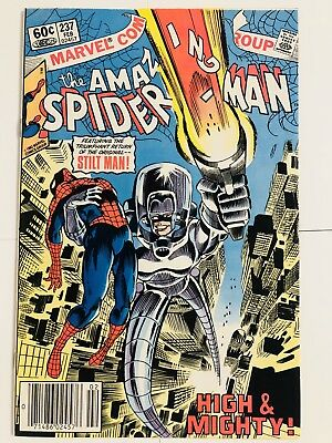Amazing Spiderman 237 Stiltman! Everything starts at 99 cents!