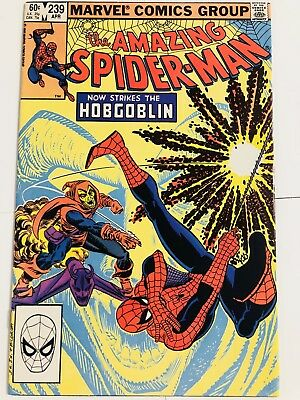 Amazing Spiderman 239 2nd Hobgoblin! Beautiful! Everything starts at 99 cents!