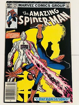 Amazing Spiderman 242 Mad Thinker! Everything starts at 99 cents!