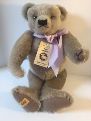 "Merrythought Ironbridge Shrops Teddy Bear 17"" Mohair With Tags Jointed England"