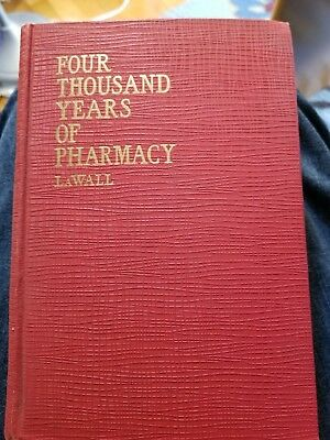 Rare Four Thousand Years Of Pharmacy Apothecary History Herb Medicines Cannabis
