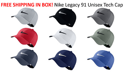 4d89727e27111 SHIPS FREE IN BOX 2019 Nike Golf Legacy 91 TOUR HAT Swoosh Cap Hat Unisex  892651