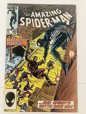 Amazing Spiderman 265 1st Silver Sable! Everything starts at 99 cents!