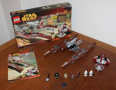 Lego - 7260 - Wookiee Catamaran - Good used condition, complete with all figures