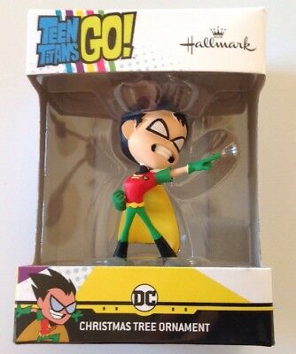 2018 Hallmark Teen Titans Go! ROBIN Christmas Tree Ornament DC Comics Batman