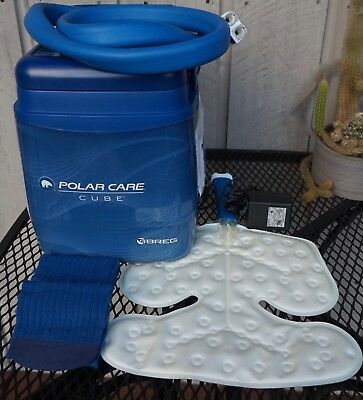 Breg POLAR CARE CUBE Ice Cold Therapy System with MULTI-USE Wrap and Straps
