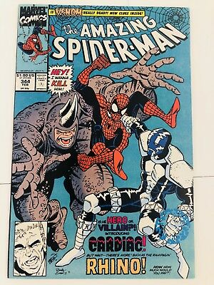 Amazing Spiderman 344 1st Cletus Cassidy Carnage! Everything starts at 99 cents!