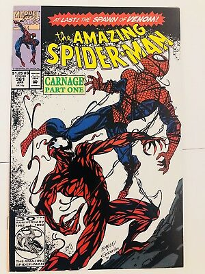Amazing Spiderman 361 1st Carnage! Everything starts at 99 cents!