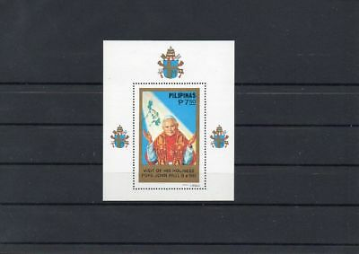 Philippinen     Block  15  Papst  Paul  II        postfrisch    Lot022
