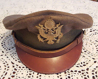 WW2 US Army Officer Hat
