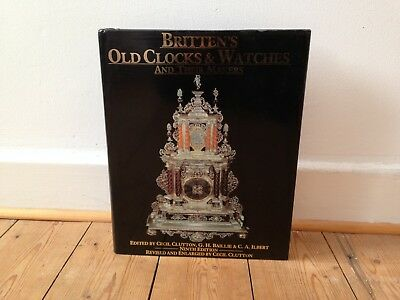 Brittens Old Clocks and Watches and their makers, Antique clocks, Collectibles.