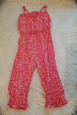 girls 12-18 months dungarees jumpsuit playsuit floral summer clothes next day