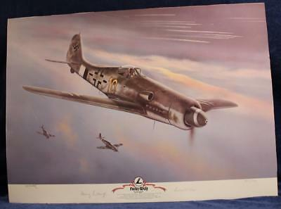 COPY JERRY CRANDALL FOCKE-WULF Fw 190 D-13/R11 YELLOW 10 SIGNED LUFTWAFFE PILOT