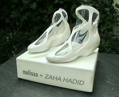 "Melissa ZAHA HADID ""Jelly Vegan Shoes"" Rare Limited Edition UK8 EU41/42 SOLD OUT"