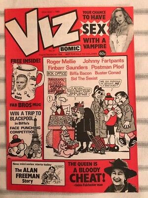 Viz Comic vintage issues from the 1980s in immaculate condition (issues 31-40)