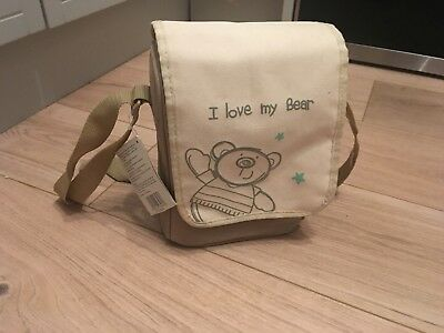 Double Insulated Bottle Bag I Love My Bear New With Tag